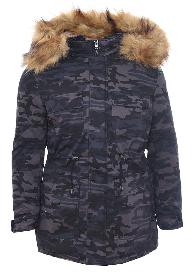 Ανδρικό Parka Noble Grey Army αρχική ανδρικά ρούχα επιλογή ανά προϊόν μπουφάν
