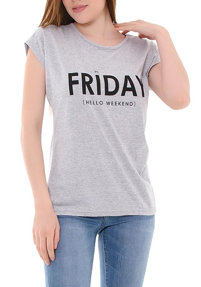 Μπλούζα Friday Grey αρχική γυναικεία ρούχα μπλούζες   tops