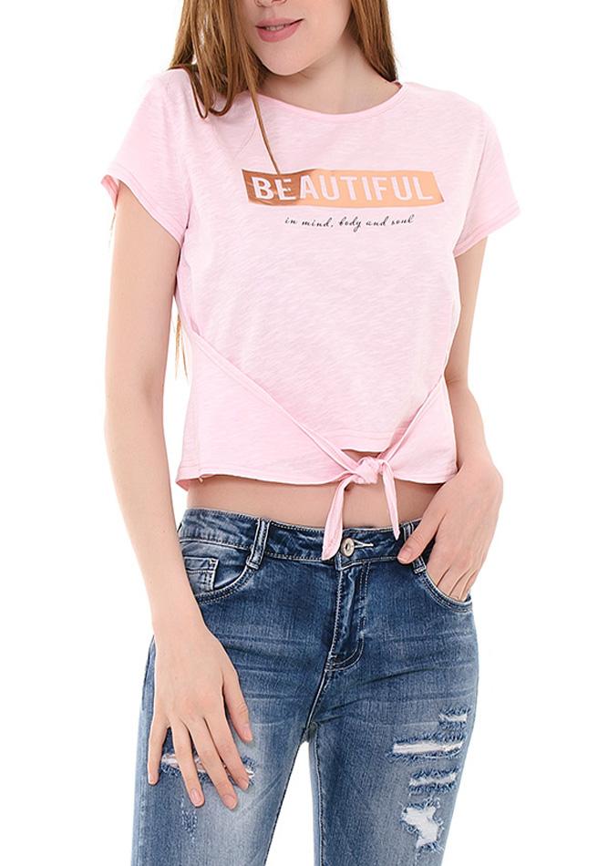Μπλούζα Pink Beautiful αρχική γυναικεία ρούχα μπλούζες   tops