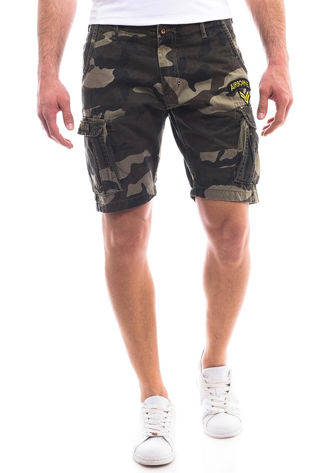 Ανδρική Βερμούδα Airborne Army αρχική ανδρικά ρούχα επιλογή ανά προϊόν βερμούδες