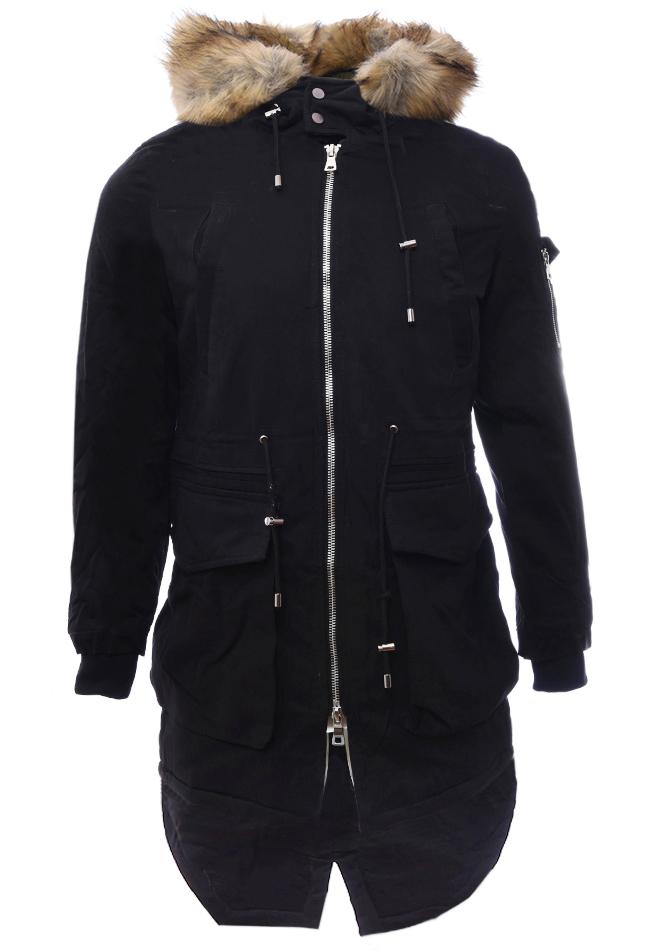 Ανδρικό Μπουφάν Parka Local Black αρχική ανδρικά ρούχα επιλογή ανά προϊόν μπουφάν