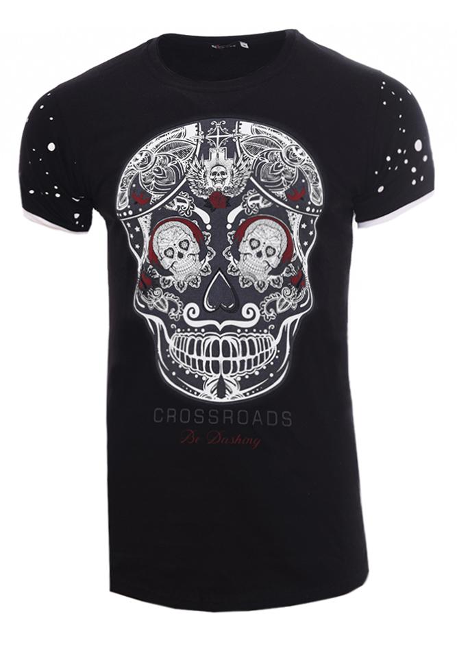 df0e4a8cf146 Ανδρικό T-shirt Crossroads Black