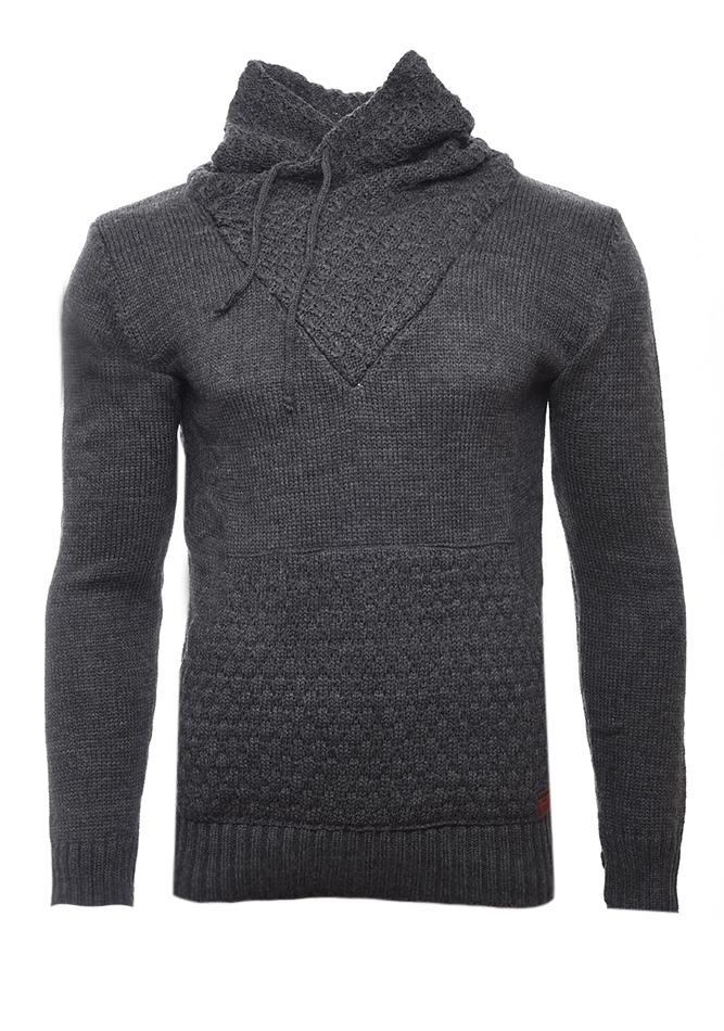 Ανδρική Πλεκτή Μπλούζα Apple D.Grey αρχική ανδρικά ρούχα