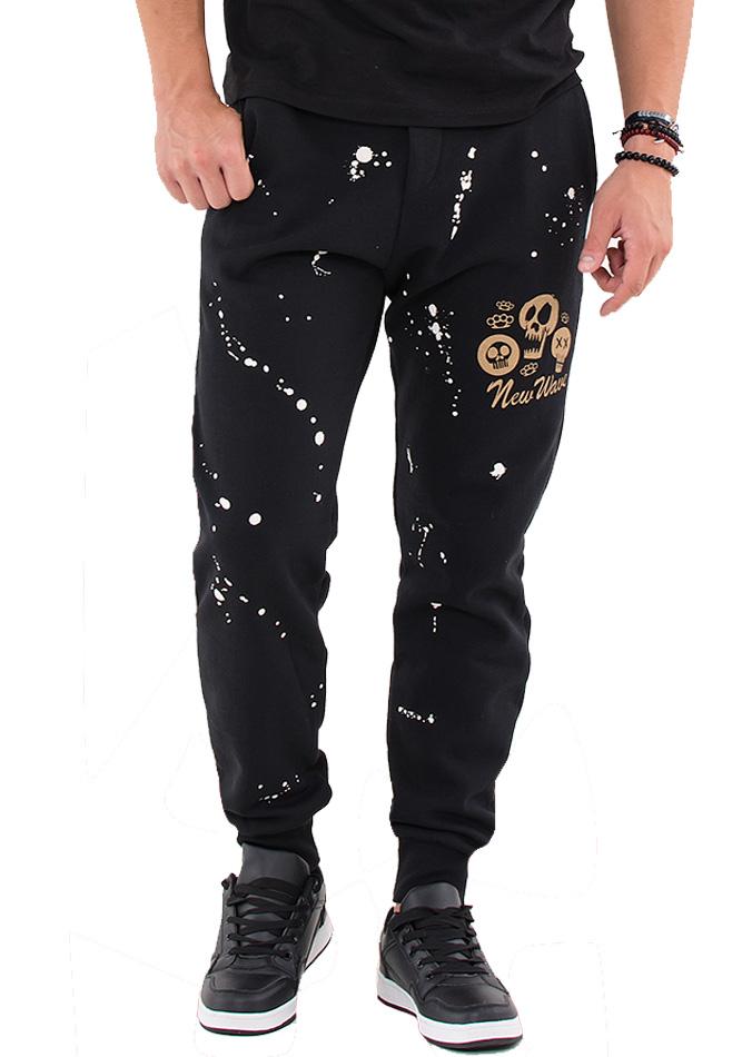 Ανδρική Φόρμα New Wave Splash Black αρχική ανδρικά ρούχα επιλογή ανά προϊόν φόρμες