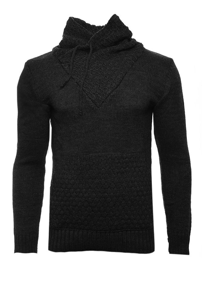 Ανδρική Πλεκτή Μπλούζα Apple Black αρχική ανδρικά ρούχα επιλογή ανά προϊόν πλεκτά