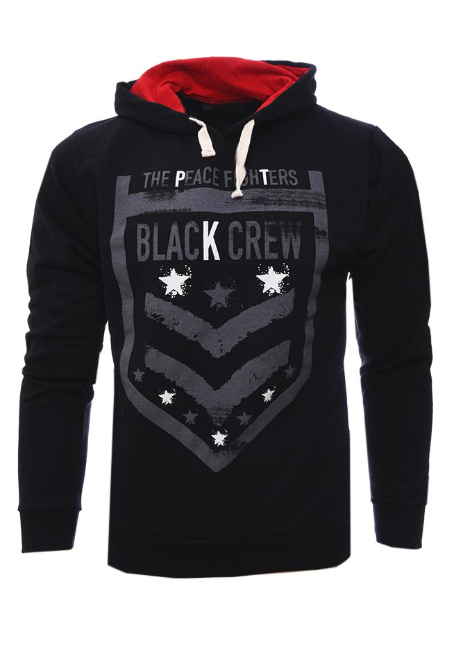 Ανδρικό Φούτερ Fighters Black αρχική ανδρικά ρούχα επιλογή ανά προϊόν φούτερ