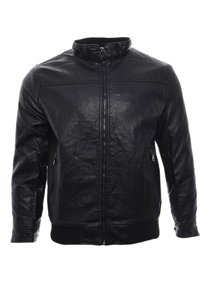 Ανδρικό Μπουφάν Δερματίνη Power αρχική ανδρικά ρούχα επιλογή ανά προϊόν μπουφάν