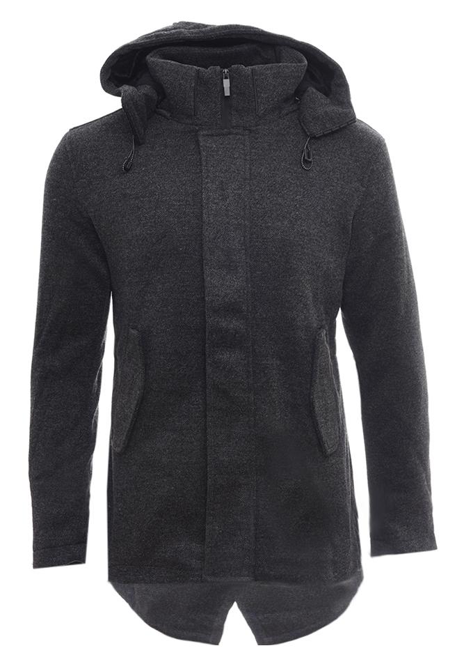 Ανδρικό Παλτό Venus Grey αρχική ανδρικά ρούχα