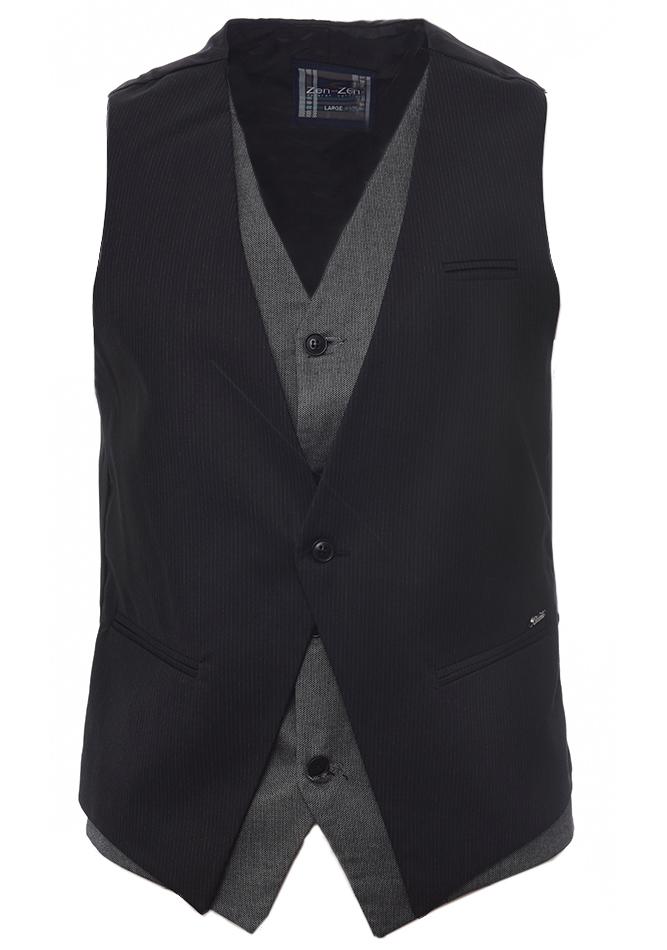 Ανδρικό Γιλέκο Gentle Black αρχική ανδρικά ρούχα επιλογή ανά προϊόν σακάκια   γιλέκα