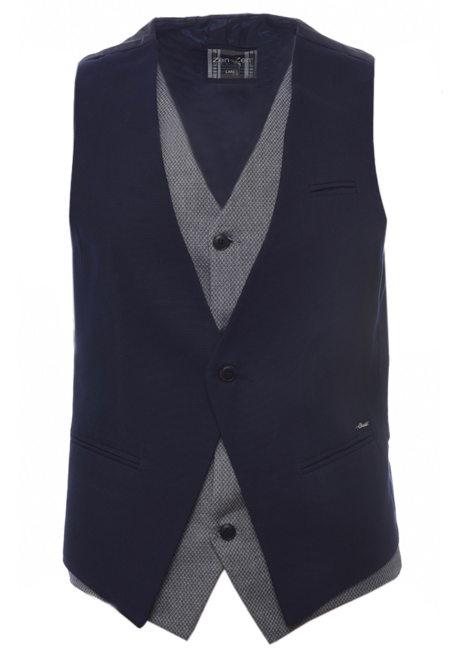 Ανδρικό Γιλέκο Gentle D. Blue αρχική ανδρικά ρούχα επιλογή ανά προϊόν σακάκια   γιλέκα