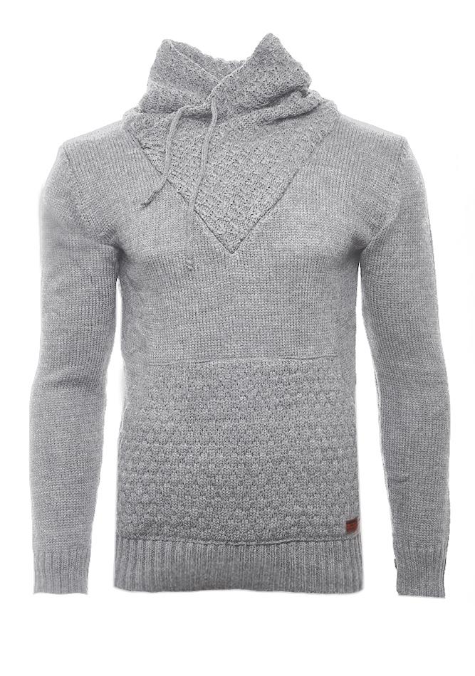 Ανδρική Πλεκτή Μπλούζα Apple Grey αρχική ανδρικά ρούχα επιλογή ανά προϊόν πλεκτά