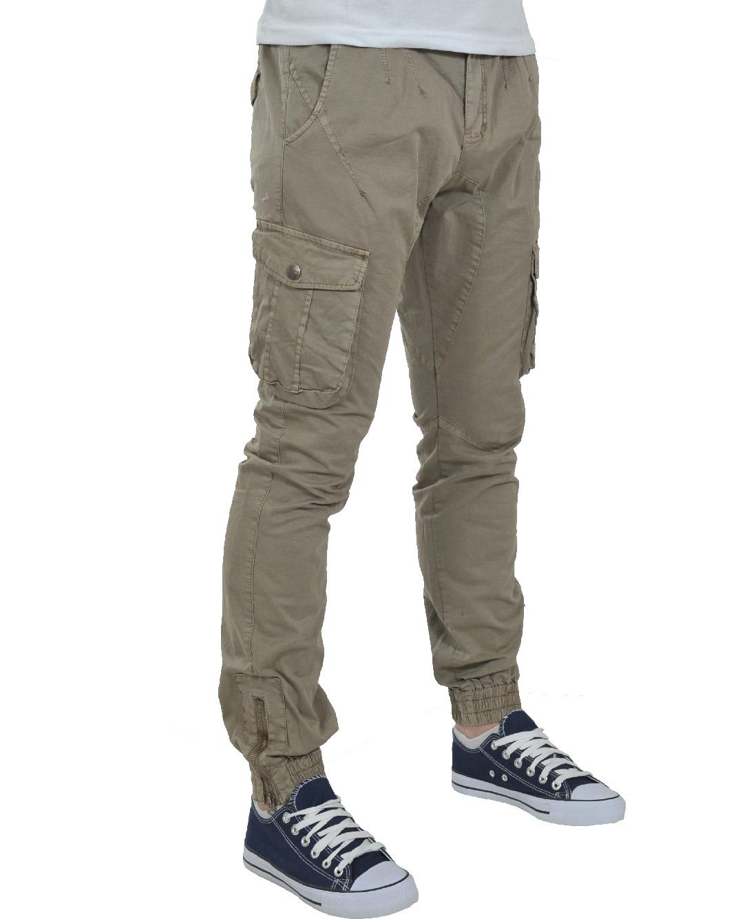 Ανδρικό Chino Παντελόνι Beize Pocket-Μπεζ αρχική ανδρικά ρούχα παντελόνια chinos