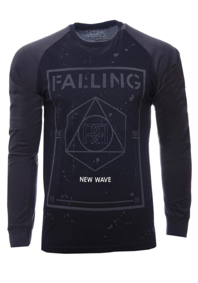 Ανδρική Μπλούζα Falling Black αρχική ανδρικά ρούχα