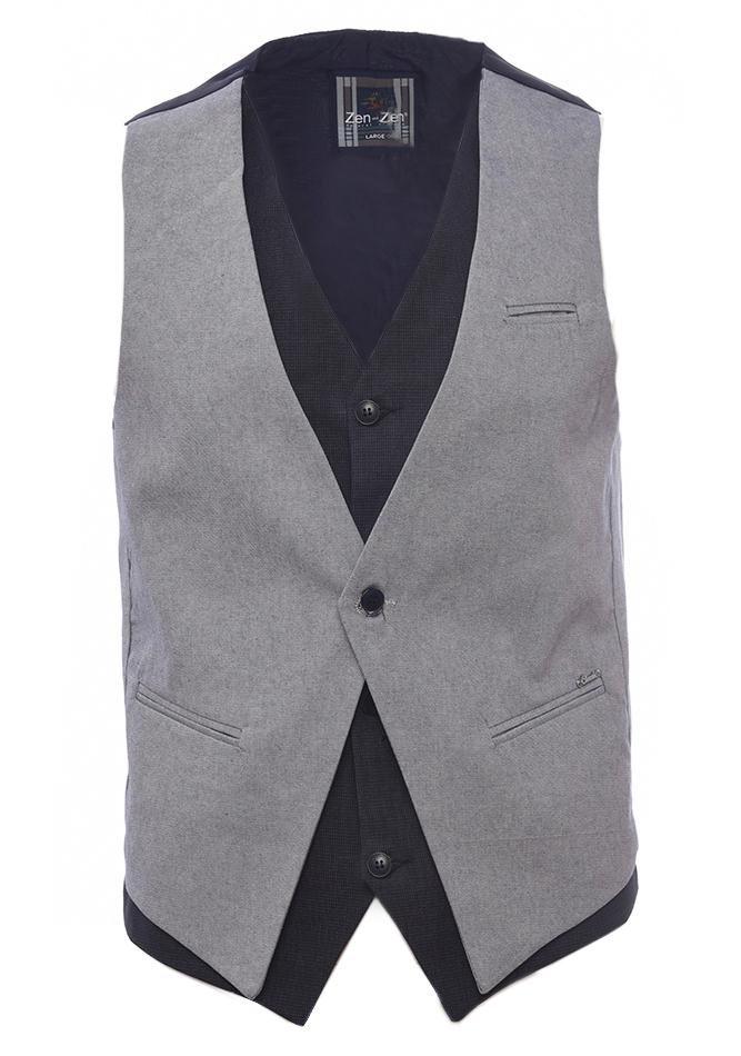 Ανδρικό Γιλέκο Gentle Grey αρχική ανδρικά ρούχα επιλογή ανά προϊόν σακάκια   γιλέκα