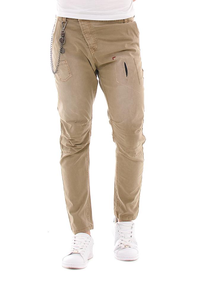 Aνδρικό Παντελόνι Chain Master Beige αρχική ανδρικά ρούχα επιλογή ανά προϊόν παντελόνια παντελόνια chinos