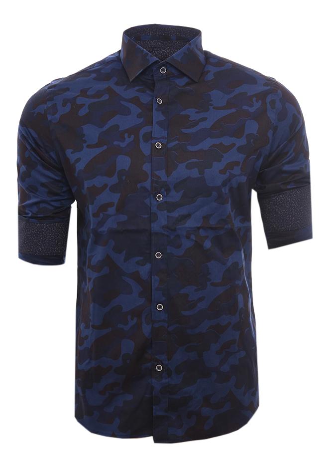 Ανδρικό Πουκάμισο Blue War αρχική ανδρικά ρούχα