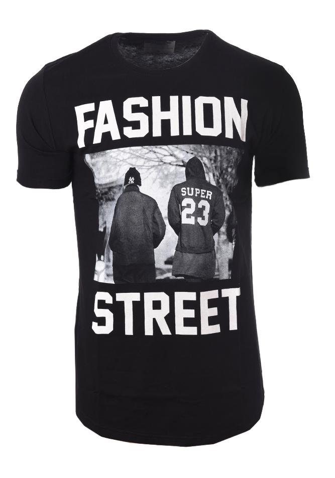 Ανδρικό T-shirt Fashion Street αρχική ανδρικά ρούχα t shirts