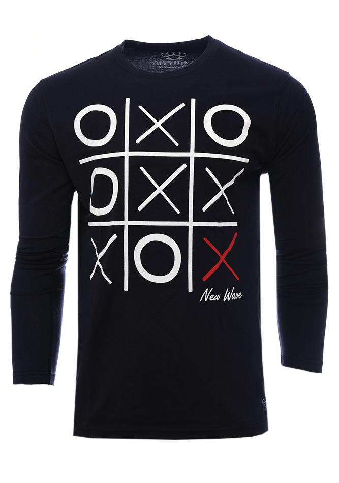 Ανδρική Μπλούζα O.X. Black αρχική άντρας μπλούζες