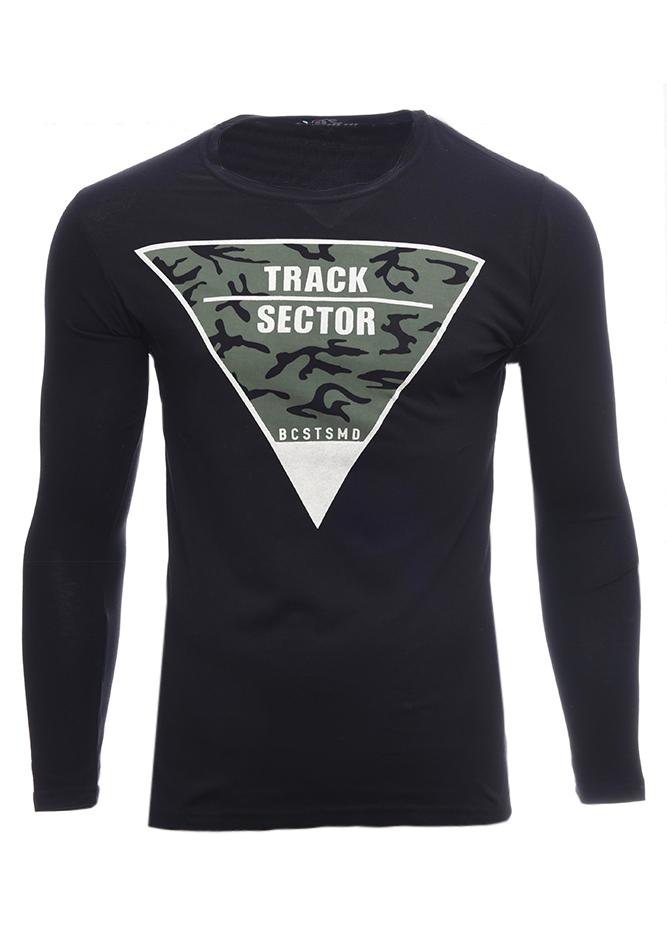 Ανδρική Μπλούζα Sector Black αρχική ανδρικά ρούχα επιλογή ανά προϊόν μπλούζες