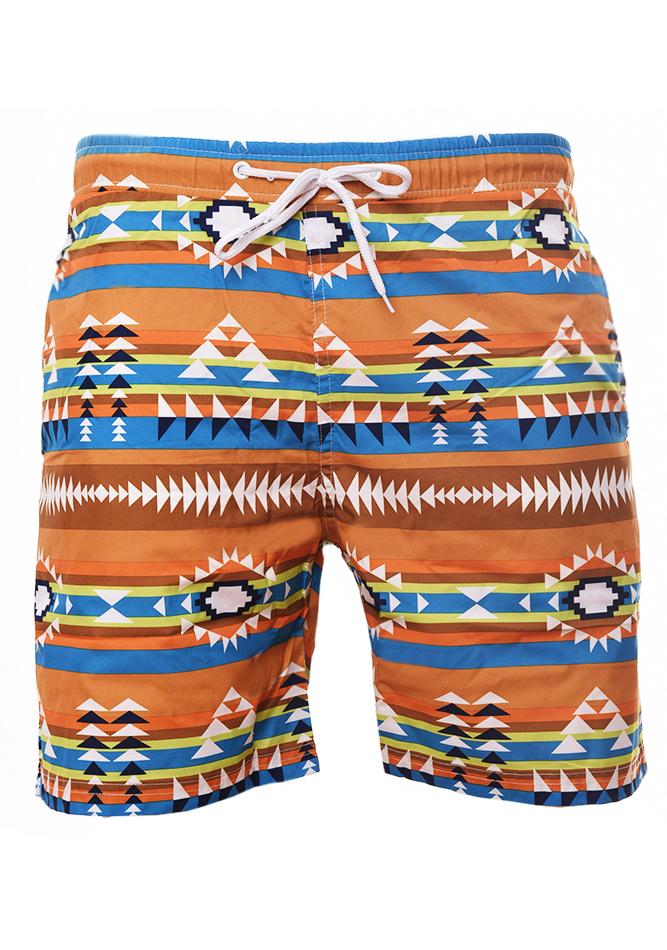 Ανδρικό Μαγιώ Stripe Camel αρχική ανδρικά ρούχα επιλογή ανά προϊόν μαγιό