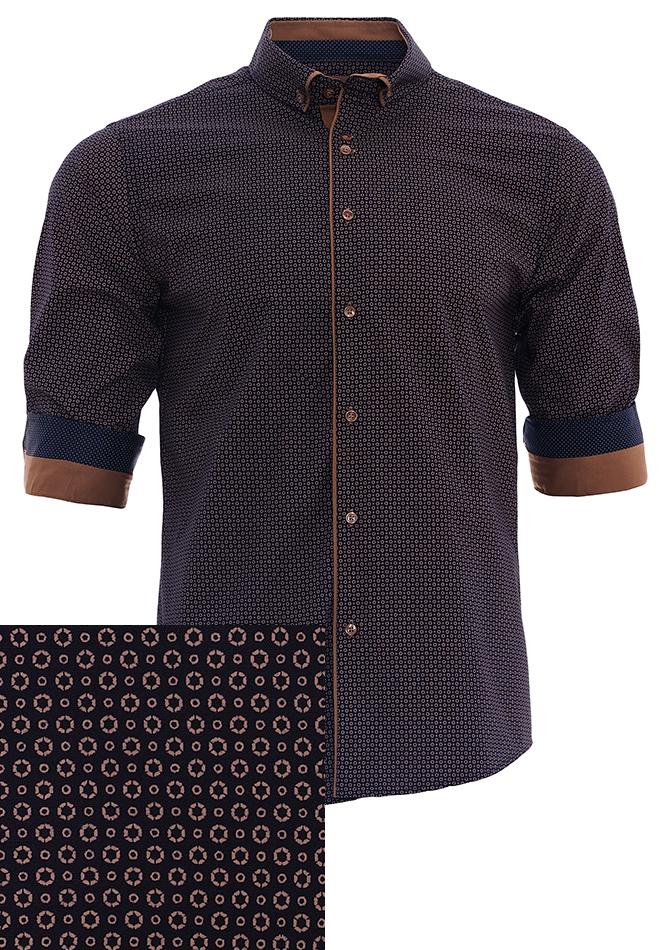 Ανδρικό Πουκάμισο Daisy αρχική ανδρικά ρούχα επιλογή ανά προϊόν πουκάμισα