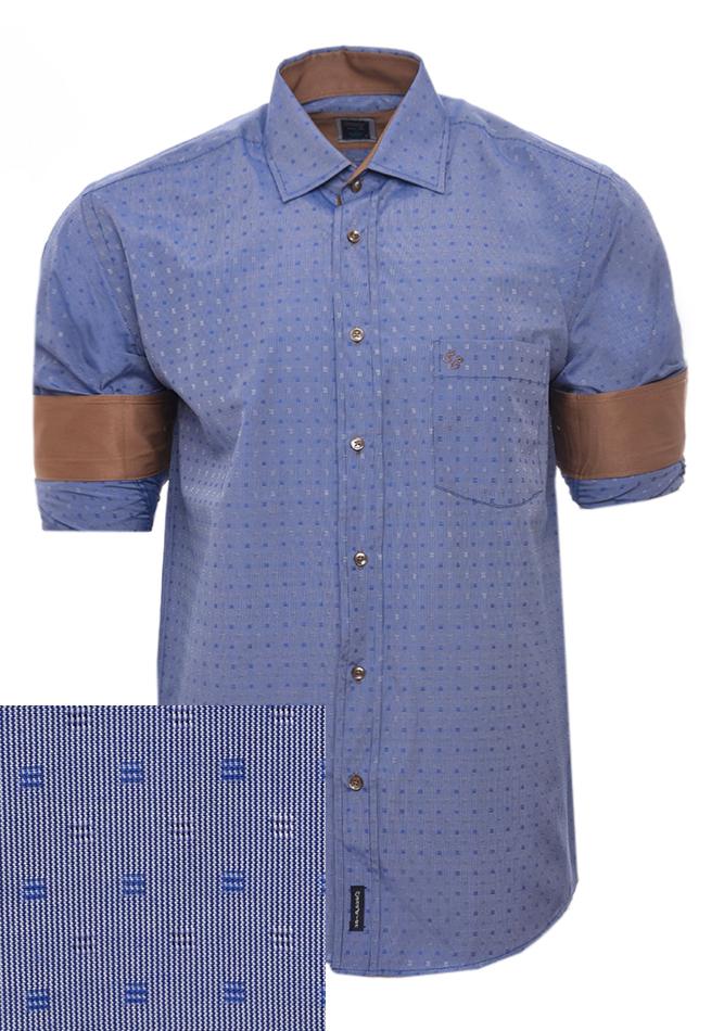 Ανδρικό Πουκάμισο Sea Blue αρχική ανδρικά ρούχα επιλογή ανά προϊόν πουκάμισα