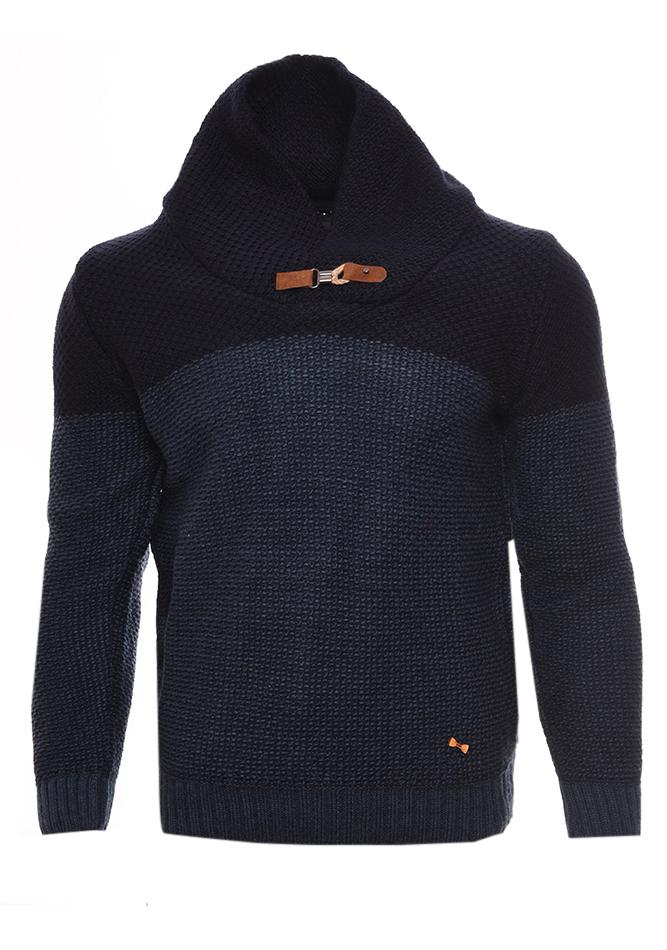 Ανδρική Πλεκτή Μπλούζα Sent D.Blue αρχική ανδρικά ρούχα επιλογή ανά προϊόν πλεκτά