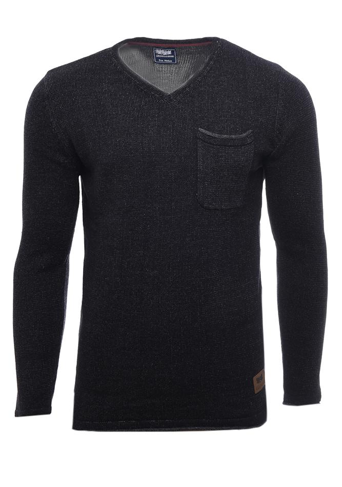 Ανδρική Πλεκτή Μπλούζα Original Black αρχική ανδρικά ρούχα επιλογή ανά προϊόν πλεκτά