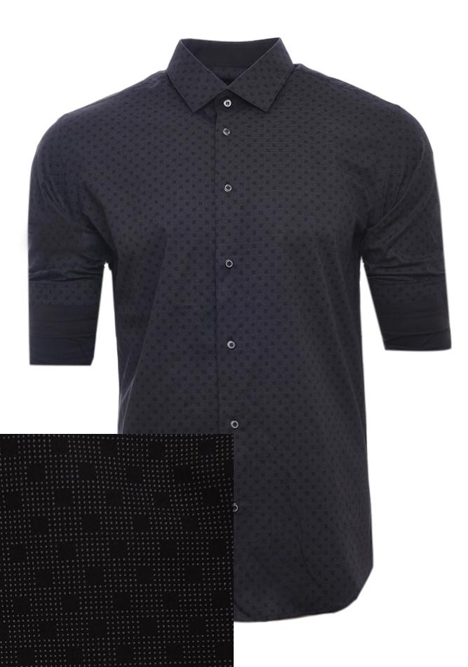Ανδρικό Πουκάμισο Fake Black αρχική ανδρικά ρούχα