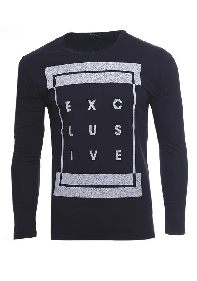 Ανδρικά Μπλούζα Exclusive D.Blue αρχική ανδρικά ρούχα επιλογή ανά προϊόν μπλούζες