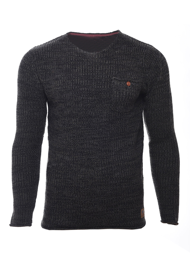 Ανδρική Πλεκτή Μπλούζα Warning Khaki αρχική ανδρικά ρούχα επιλογή ανά προϊόν πλεκτά