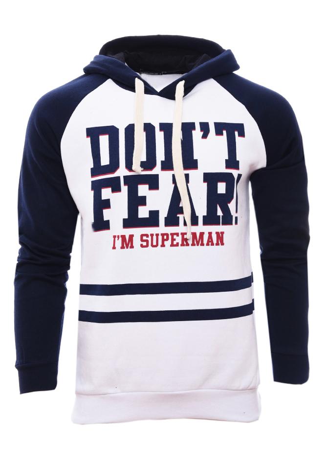 Ανδρικό Φούτερ Superman White αρχική άντρας μπλούζες φούτερ