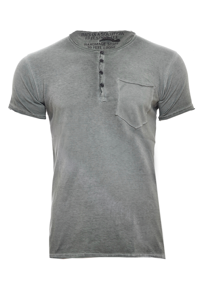 Ανδρικό T-shirt Stuff Olive Green αρχική ανδρικά ρούχα