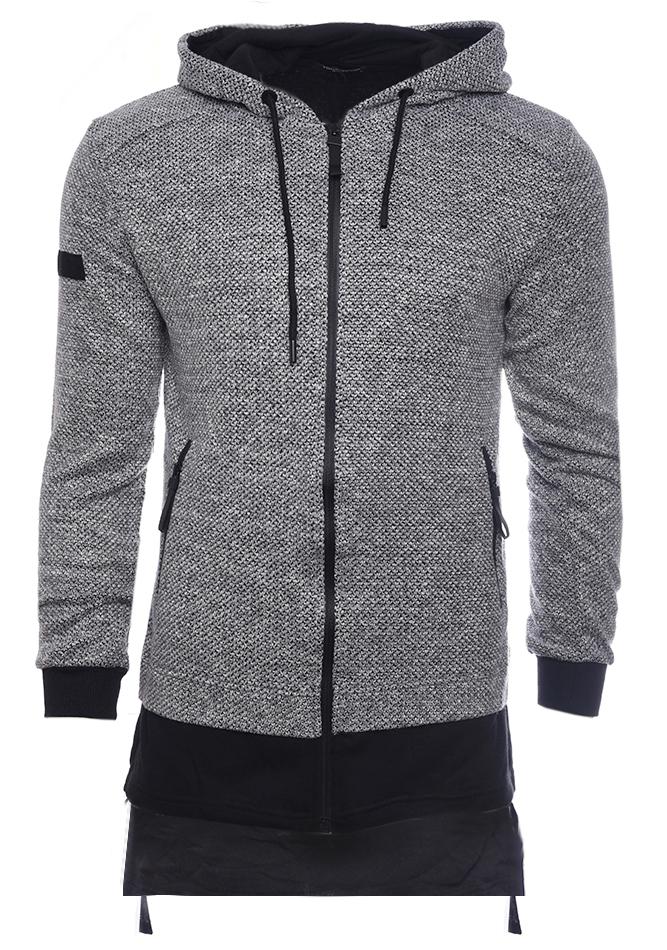 Ανδρική Ζακέτα Quickly Grey αρχική ανδρικά ρούχα επιλογή ανά προϊόν ζακέτες