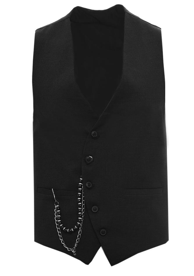 Ανδρικό Γιλέκο Bar Black αρχική ανδρικά ρούχα επιλογή ανά προϊόν σακάκια   γιλέκα