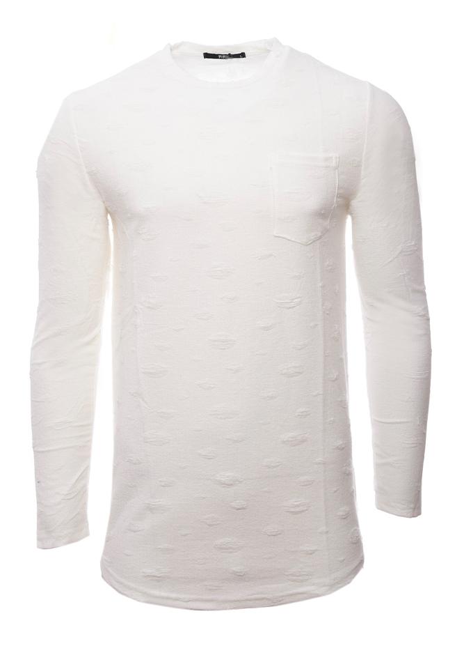 Ανδρική Μπλούζα Scare White αρχική ανδρικά ρούχα επιλογή ανά προϊόν μπλούζες