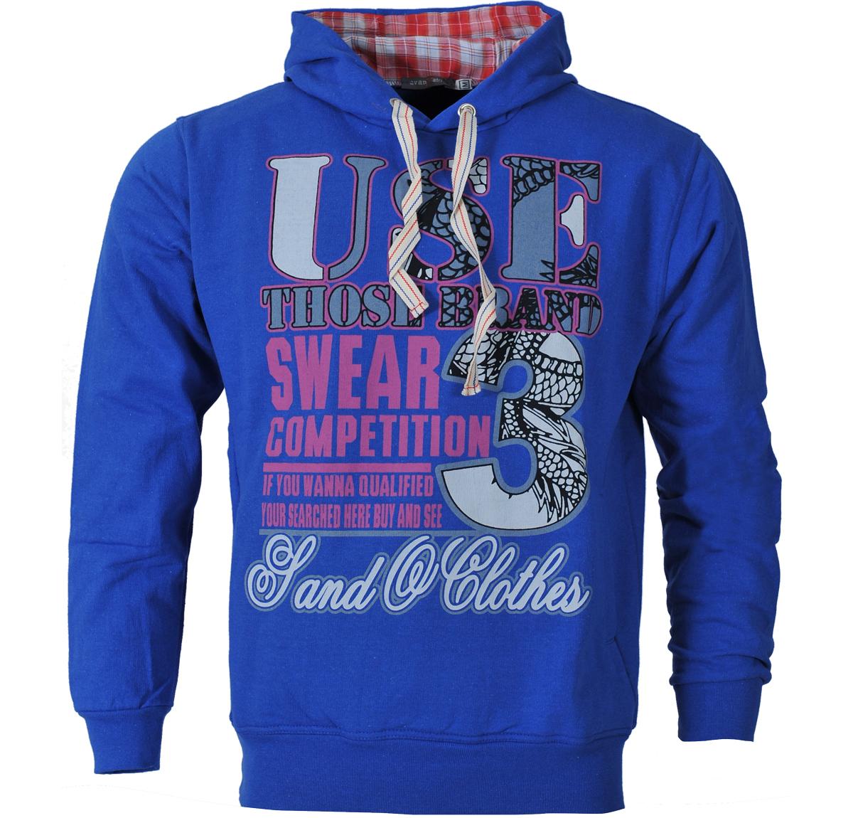 Ανδρικό Φούτερ Use-Μπλε αρχική ανδρικά ρούχα φούτερ
