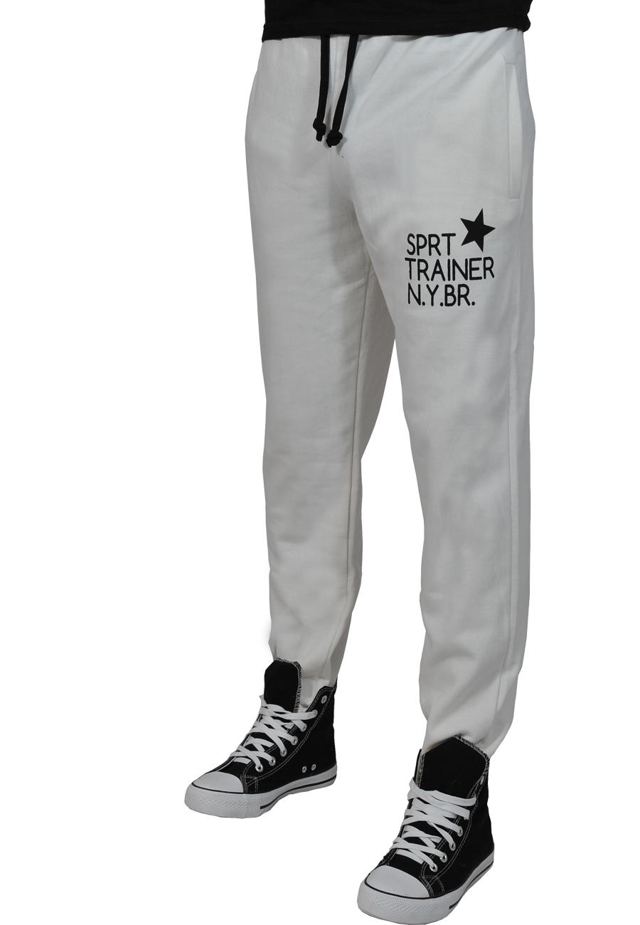 Ανδρική Φόρμα Sprt Trainer-Εκρού αρχική ανδρικά ρούχα φόρμες