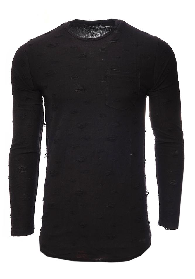 d78bcfc40300 Ανδρική Μπλούζα Scare Black