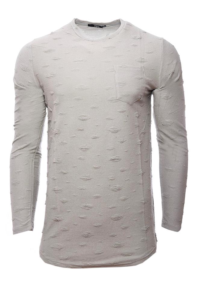 Ανδρική Μπλούζα Scare Beige αρχική ανδρικά ρούχα επιλογή ανά προϊόν μπλούζες