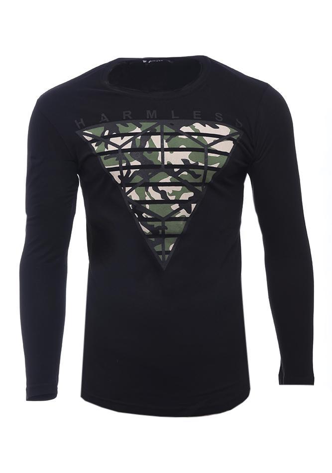 Ανδρική Μπλούζα Harmless Black αρχική ανδρικά ρούχα