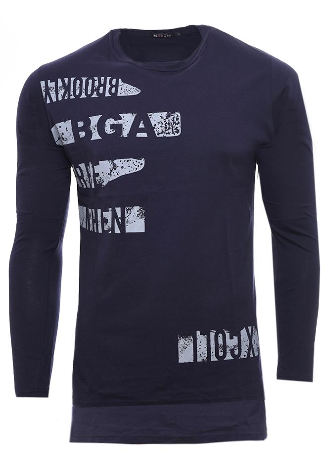 Ανδρική Μπλούζα When D.Blue αρχική ανδρικά ρούχα επιλογή ανά προϊόν μπλούζες