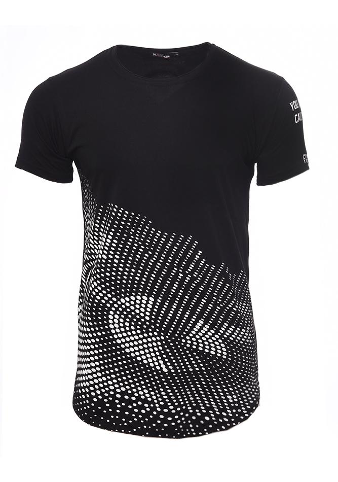 Ανδρικό Τ-shirt Circle Black αρχική ανδρικά ρούχα επιλογή ανά προϊόν t shirts