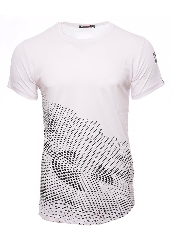 Ανδρικό T-shirt Circle White αρχική ανδρικά ρούχα επιλογή ανά προϊόν t shirts