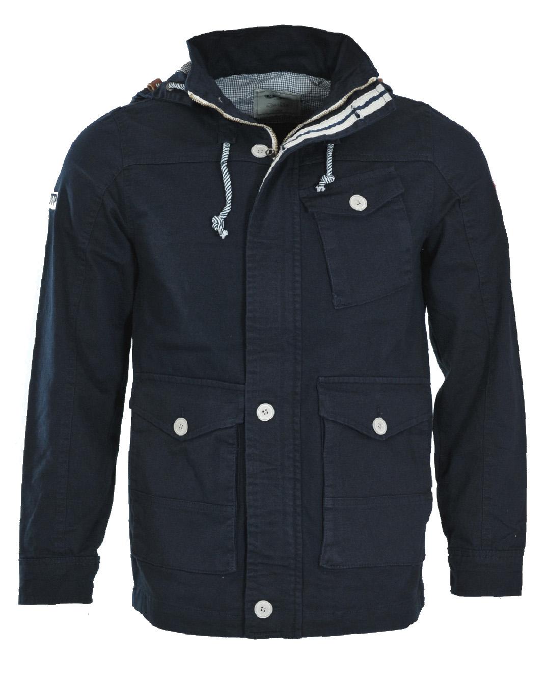 Ανδρικό Μπουφάν D.Blue London-Μπλε Σκούρο αρχική ανδρικά ρούχα μπουφάν