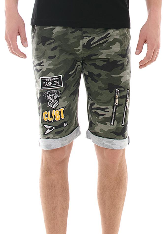 Ανδρική Βερμούδα Green Army Fashion αρχική άντρας βερμούδες