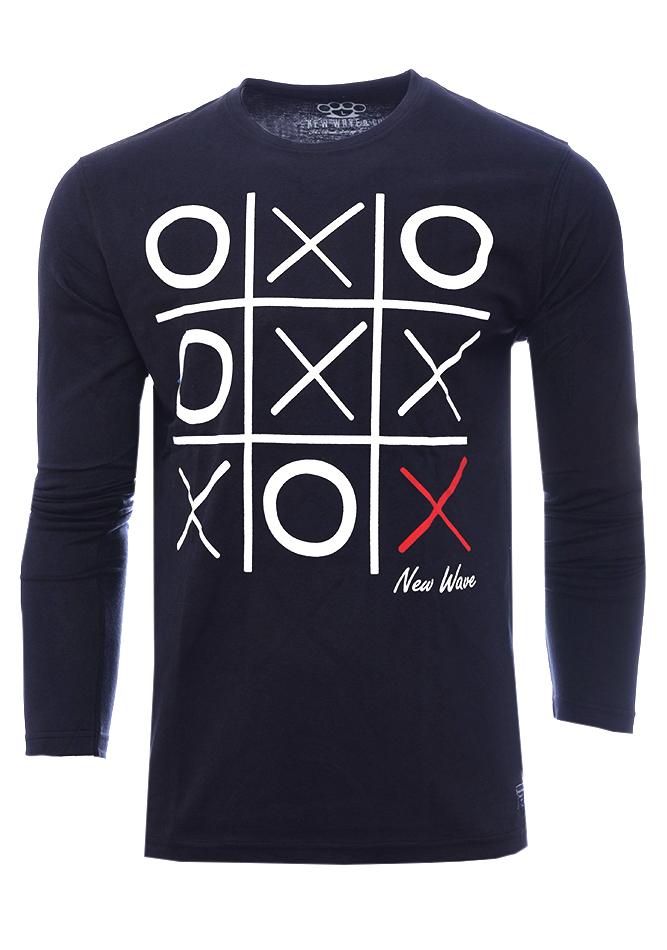 Ανδρική Μπλούζα O.X. D.Grey αρχική ανδρικά ρούχα επιλογή ανά προϊόν μπλούζες