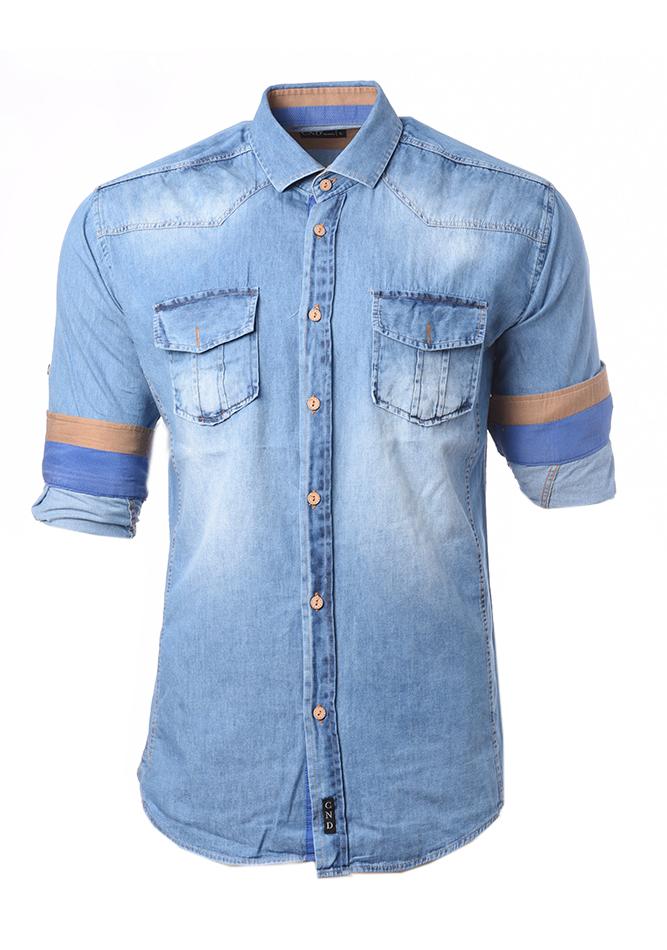 Ανδρικό Jean Πουκάμισο CND Sky αρχική ανδρικά ρούχα επιλογή ανά προϊόν πουκάμισα