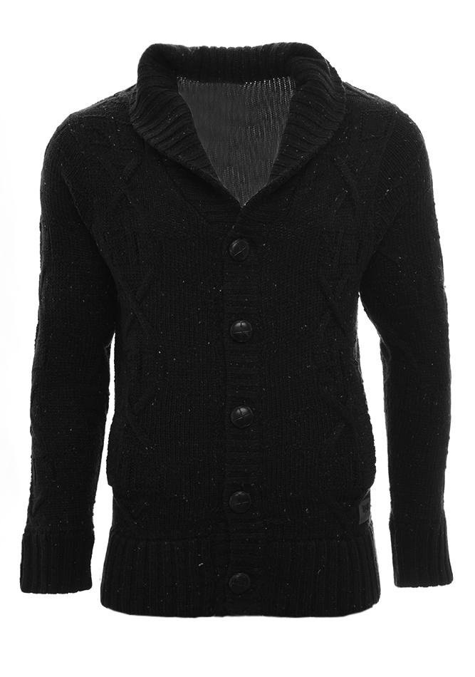 Ανδρική Πλεκτή Ζακέτα Attention D.Grey αρχική ανδρικά ρούχα επιλογή ανά προϊόν ζακέτες