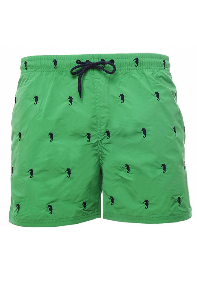 Ανδρικό Μαγιώ Hippocampus Green αρχική ανδρικά ρούχα επιλογή ανά προϊόν μαγιό